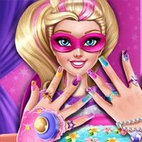Superhero Doll Manicure